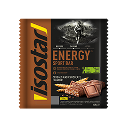 Energy Sport-Riegel Schokolade