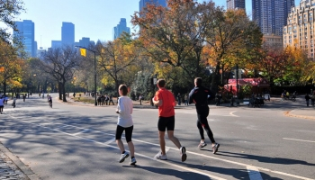 New York City-Marathon: Überwindung